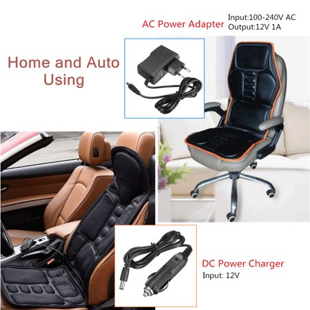 Massage Car Home Seat Cushion Mat Pad 8 Vibrating Massage 3