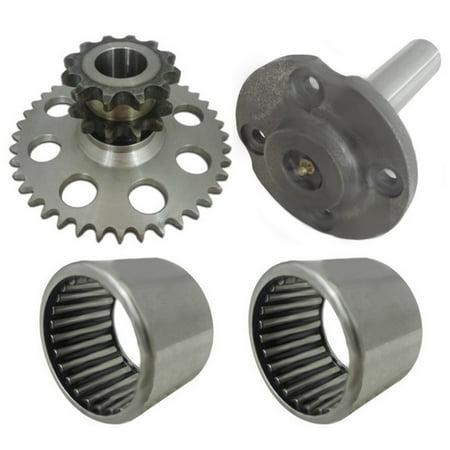 D76529 D124607 D64175 Drive Chain Cluster Sprocket Set for Case Skid Steer -