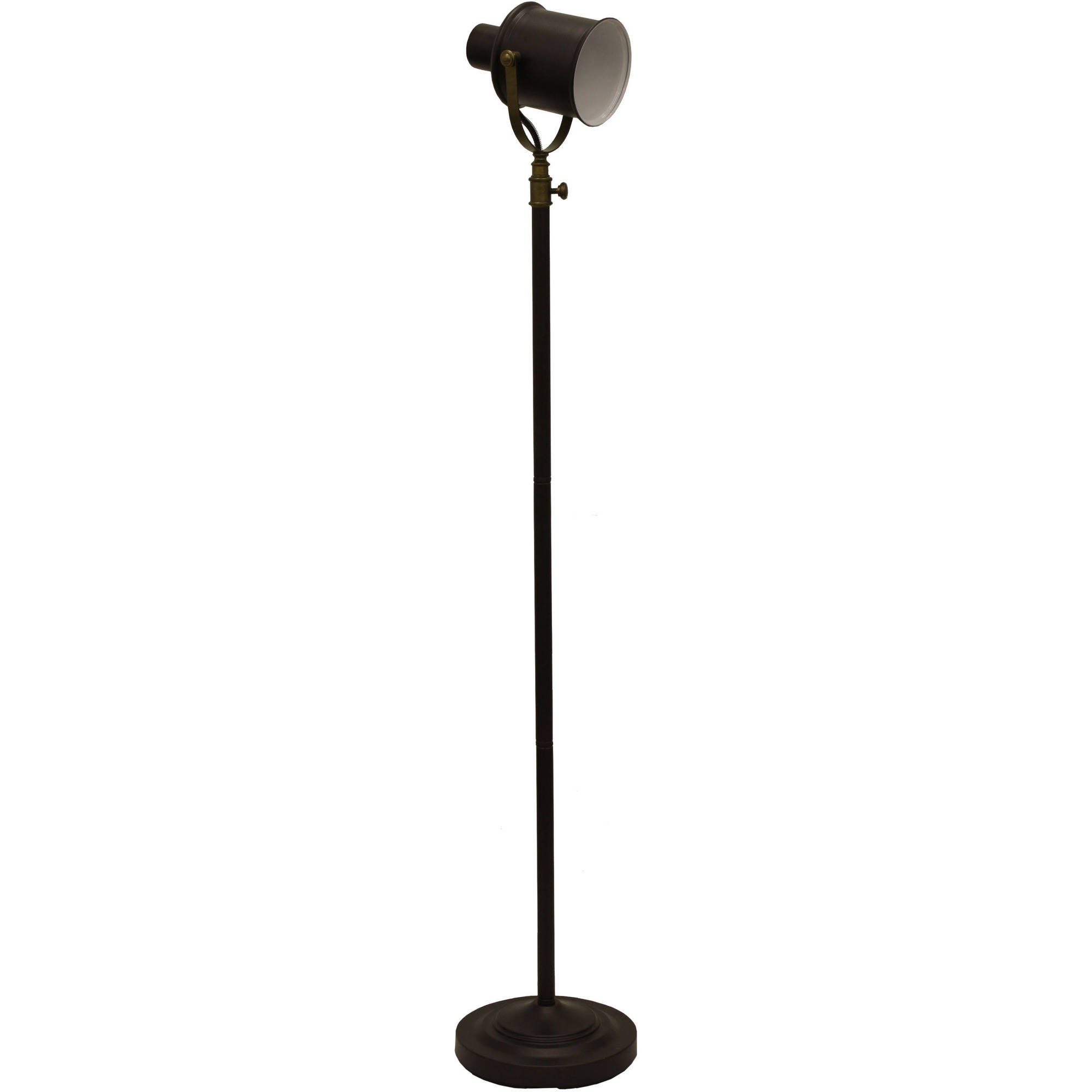 Better Homes and Gardens Two-Tone Spotlight Floor Lamp by JIMCO LAMP CO.