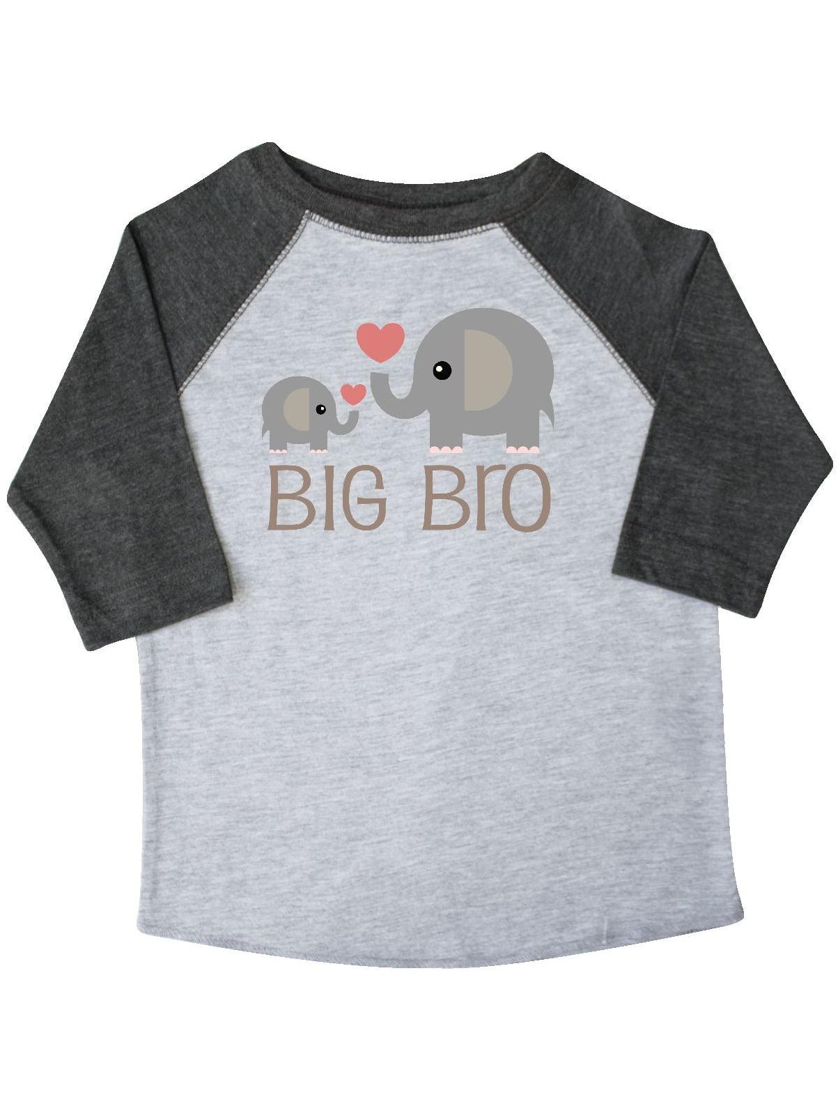 Big Bro Boys Elephant Brother Announcement Toddler T-Shirt