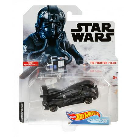 5cc7472cf95e Hot Wheels Star Wars TIE Fighter Pilot Charcter Car - Walmart.com