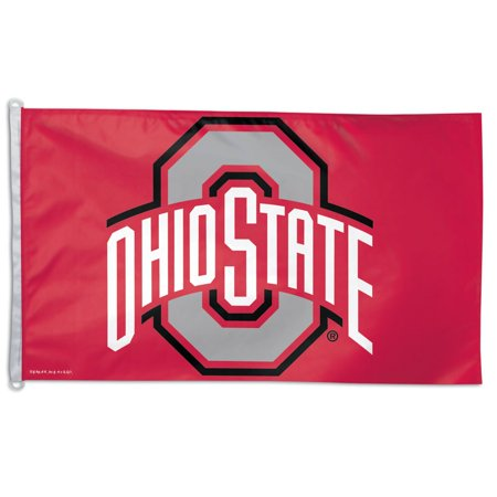 Ncaa Door Flag - Ohio State Buckeyes Official NCAA 3' X 5' Banner Flag by WinCraft