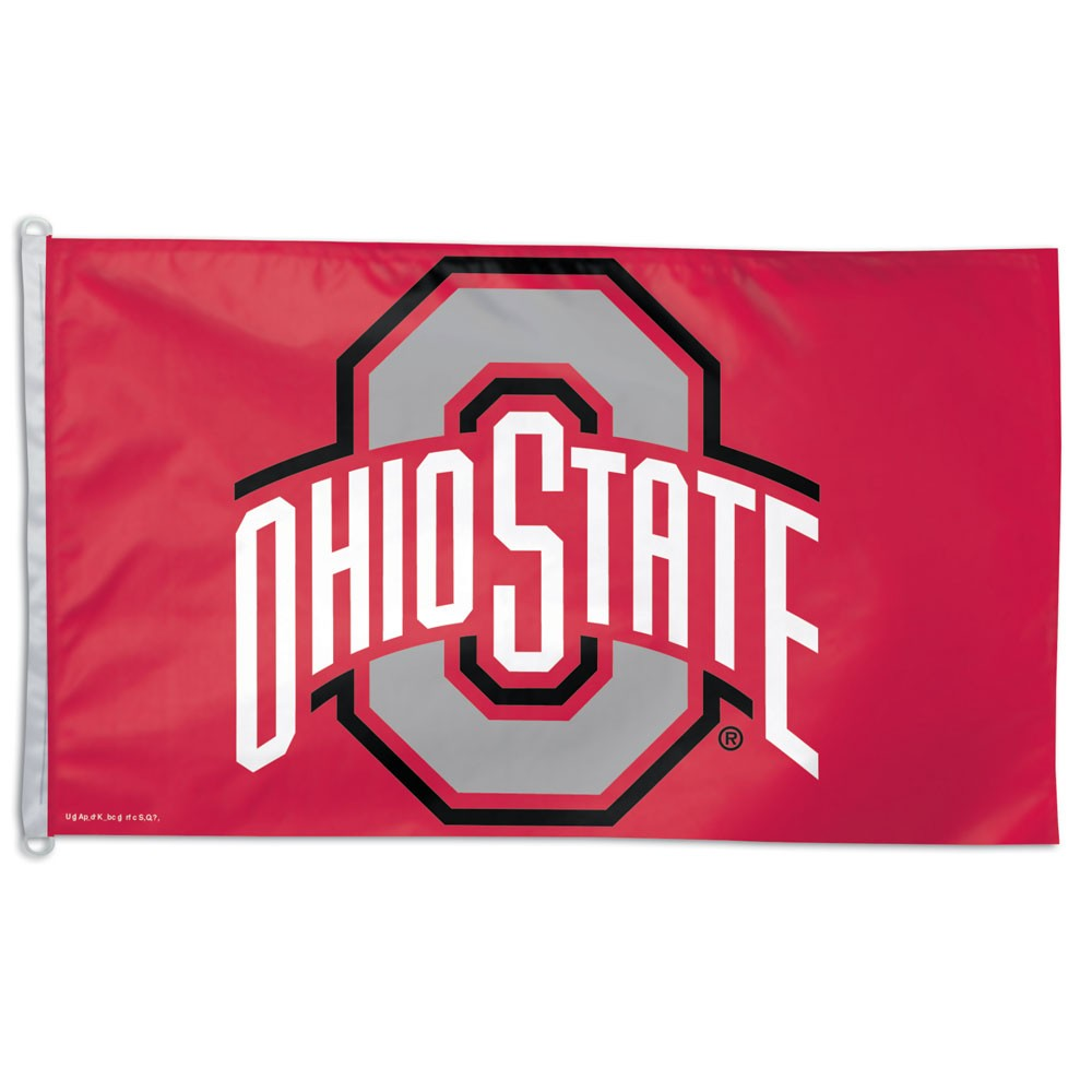 Ohio State Buckeyes Official NCAA 3' X 5' Banner Flag by WinCraft