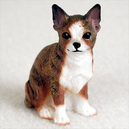 DTN06C CON Chihuahua Brindle & White Tiny One Figurine