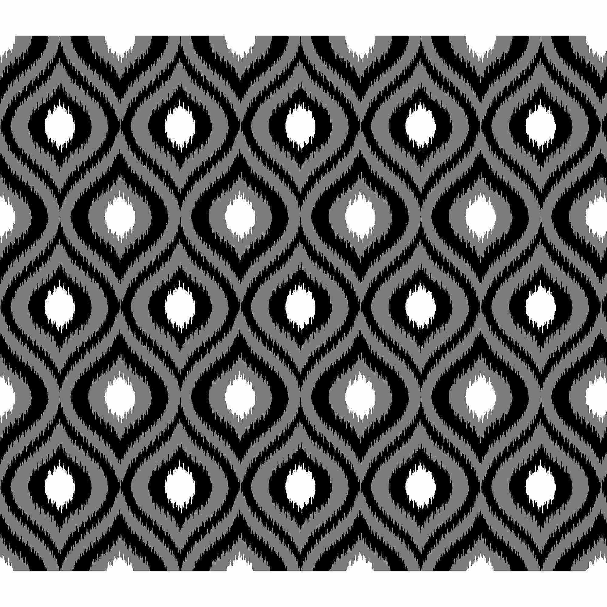 Springs Creative Cotton Blenders Tonal Ikat, Black, Fabric by the Yard