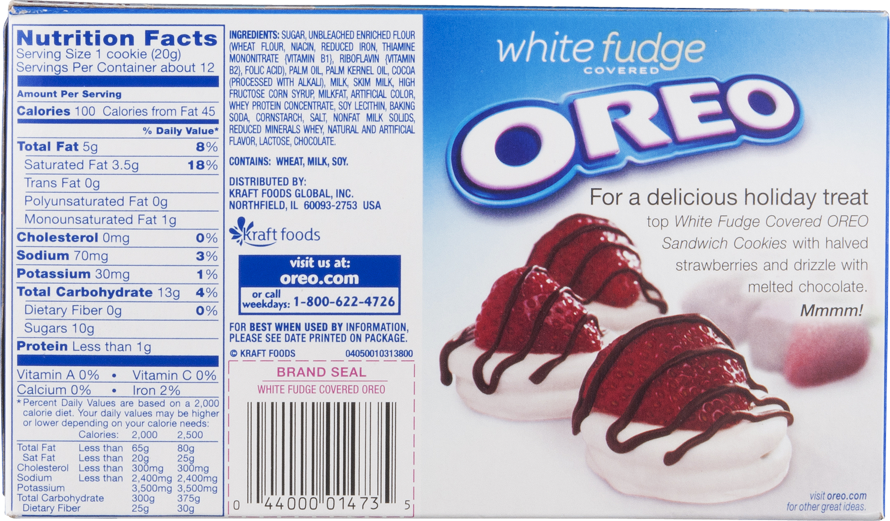 4 Boxes Of Oreo Limited Edition White Fudge Chocolate ...