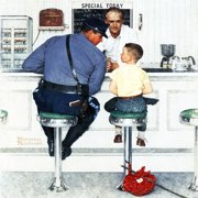 Marmont Hill Runaway by Norman Rockwell Canvas Wall Art