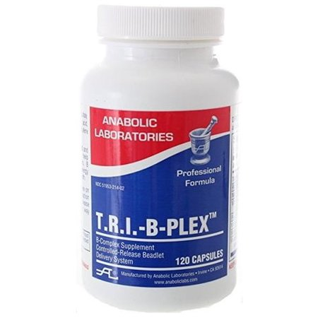 Anabolic Laboratories - T.R.I.-B Plex, B Complex Formula, 120 Capsules