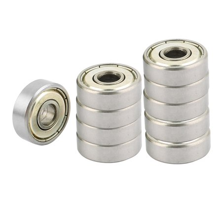 10Pcs Deep 19 x 6mm GM Parts Groove Ball Wheel Bearings 626ZZ - image 3 of 3