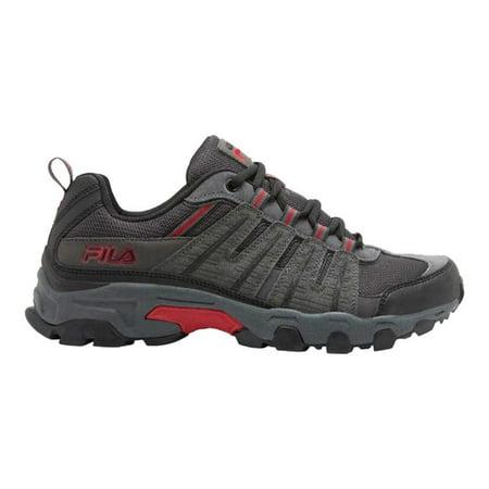 Fila Mens Westmount Sneaker, GreyBlackRed, 11