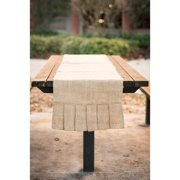 Glory Haus Plain Burlap Table Runner