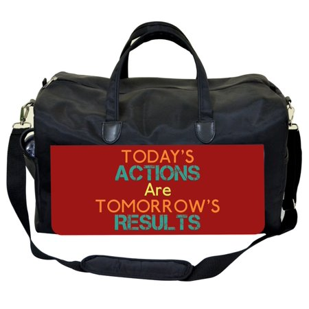 9d0366061 Jacks Outlet - Today's Actions Are Tomorrow's Results-Jacks Outlet TM Weekender  Bag - Walmart.com