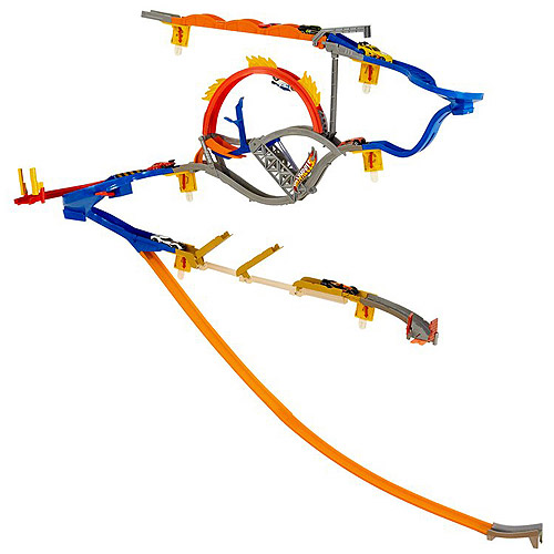 Hot Wheels Complete Wall Tracks World Play Set