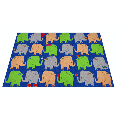 Kid Carpet Elephant Seating Classroom Area Rug