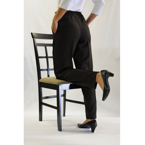 White Stag Women's Bend 'N Easy Pull-On Pants with Two On-Seam Pockets Available in Regular and Petite