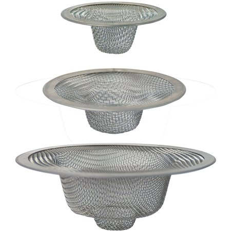 Peerless Mesh Drain Strainer Assortment, -