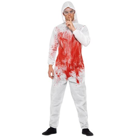 Bloody Forensic Overall Adult Costume (Overall Costume)