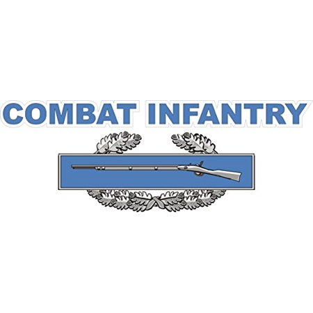 MAGNET US Army Combat Infantry Badge Decal Magnetic Sticker 5.5