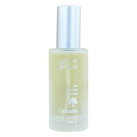 Oshadhi - Fleur de Paradis pur parfum Huile essentielle bio - 50 ml.