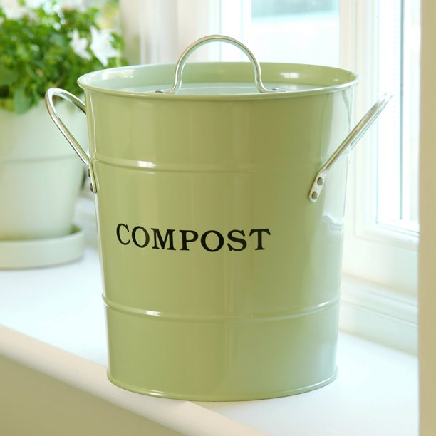 Kitchen Compost Bucket With Lid