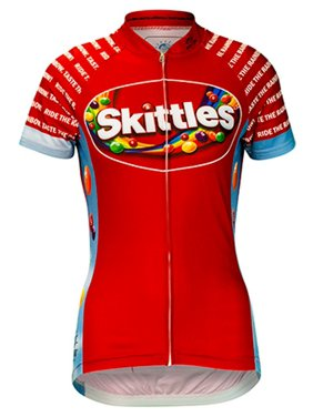 bed6c95db Brainstorm Gear Women s Skittles Ride the Rainbow Cycling Jersey - SKIP-W
