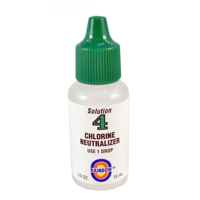 Rainbow Pool Products R161204 0.5 oz No 4 Neutralizer Test Reagent - image 1 de 1