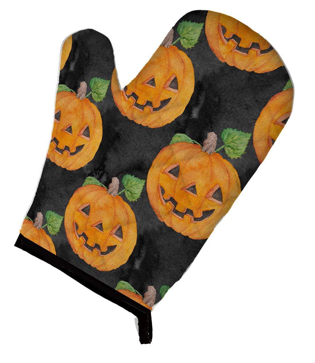 novelty hot mitt holiday hot mitt pattern Pumpkin Hot Mitt