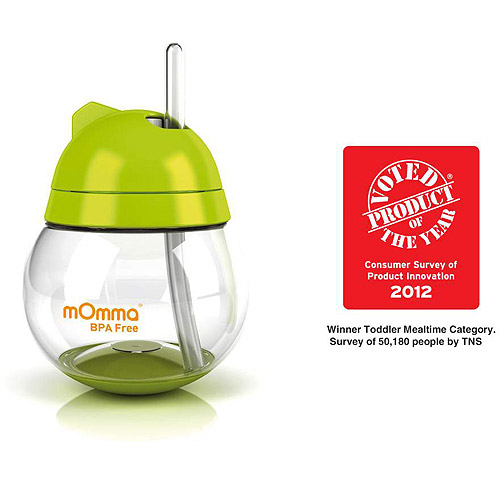 Lansinoh - mOmma Straw Cup, BPA-Free, Green