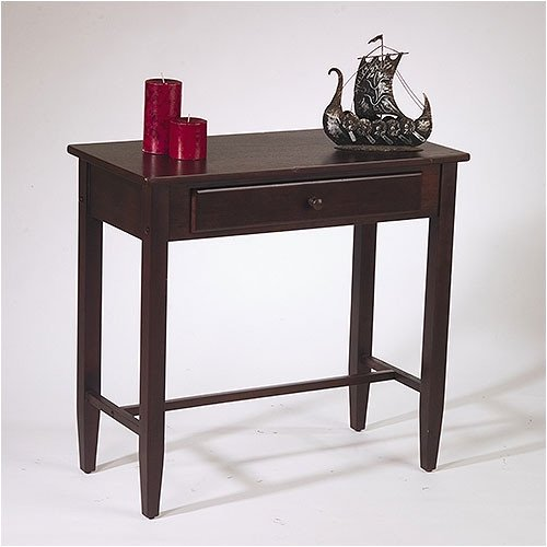 Foyer Table Height : Hall table espresso walmart