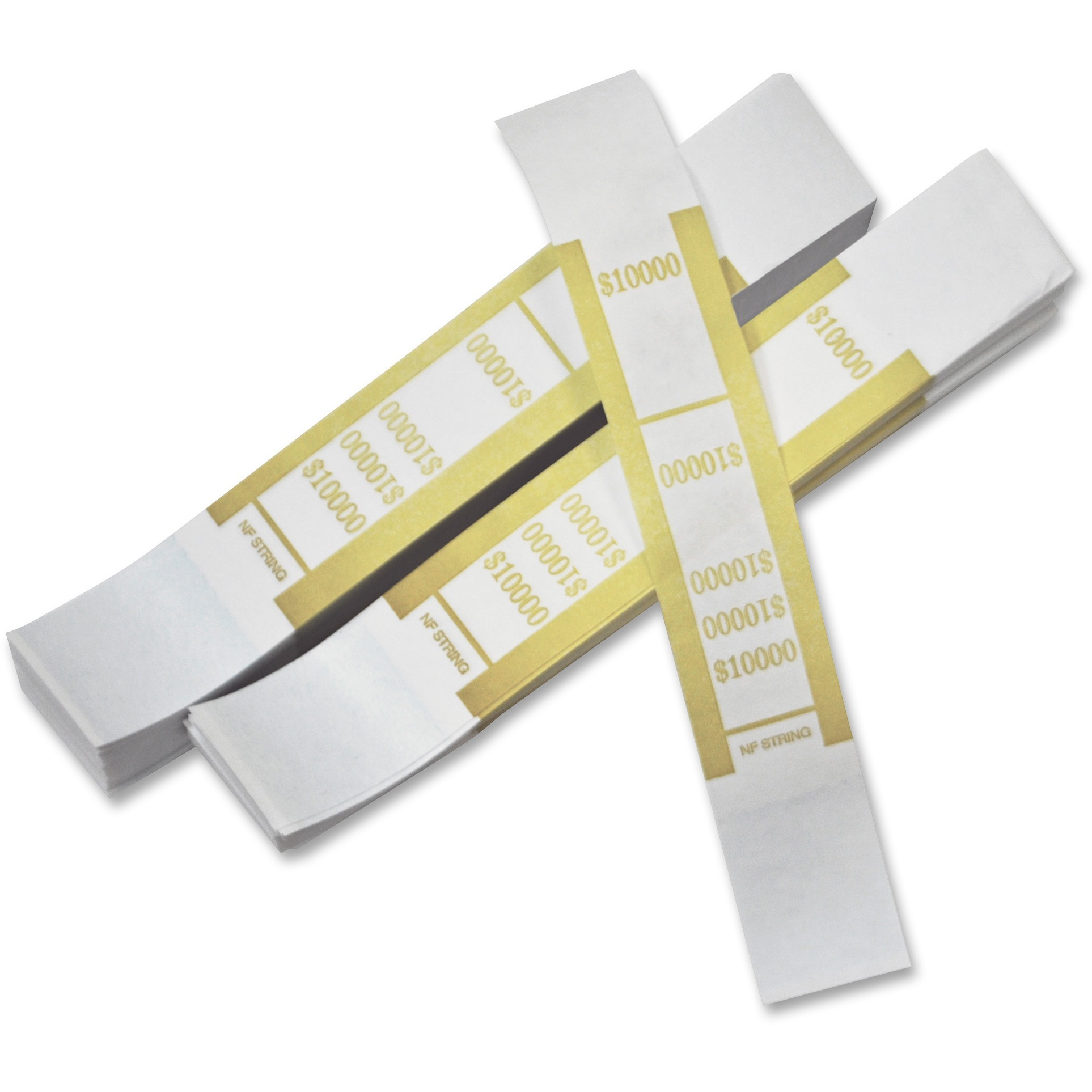 PM Currency Straps, White, Mustard