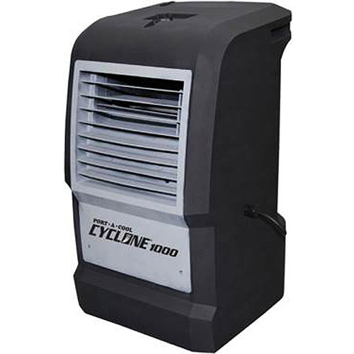 Port-A-Cool Cyclone 1000 Portable Evaporative Cooling Unit, Black by Port-A-Cool