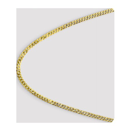 Leslies 10k 4.6mm Flat Beveled Curb Chain - image 3 of 5