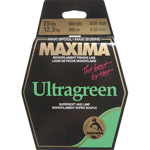 Maxima America 660 yd Maxi Spool Fishing Line, Green by Generic