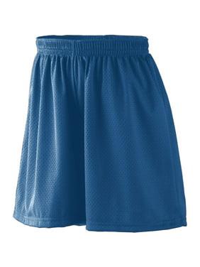 Augusta Sportswear S GIRLS LINED TRICOT MESH SHORTS Dark Green 859
