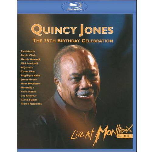 Quincy Jones: The 75th Birthday Celebration - Live At Montreux (Blu-ray) (Widescreen)