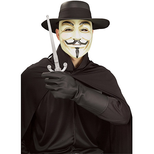 V For Vendetta Gloves Adult Halloween Accessory