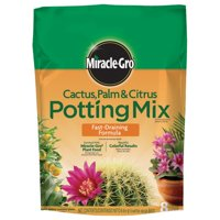 Miracle-Gro Cactus, Palm & Citrus Potting Mix, 8 qt., Use with Succulents