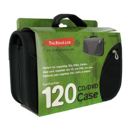 Teknmotion 120-Disc Carrying Case, -
