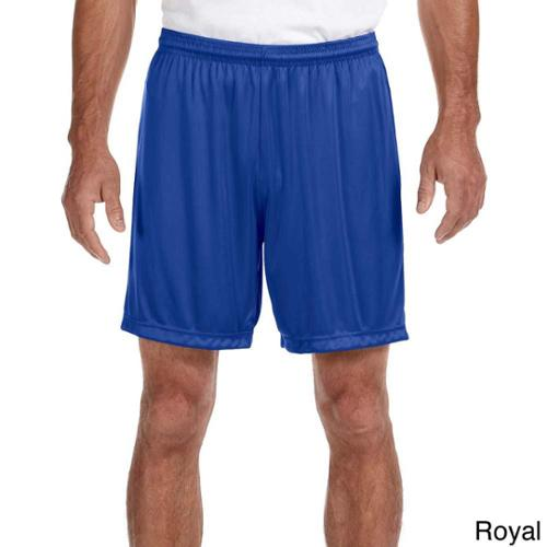 A4 Men's 7-inch Inseam Performance Shorts L,ROYAL