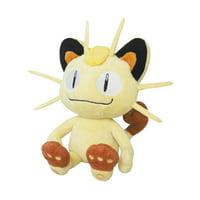 """Sanei Pokemon All Star 8.25"""" Meowth Plush"""