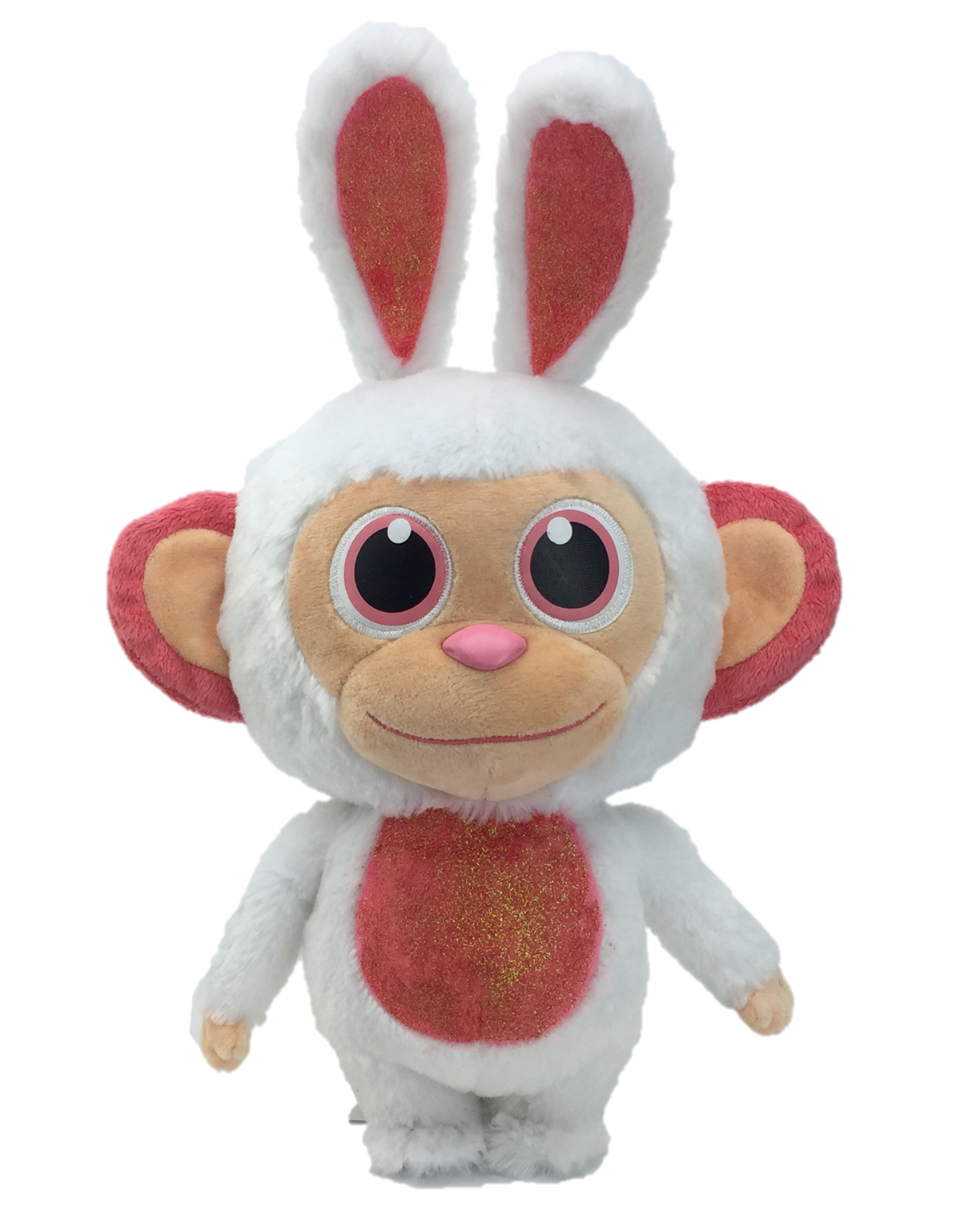 "Wonder Park Cotton Candy Scented 14"" Wonder Chimp Plush Bunny"