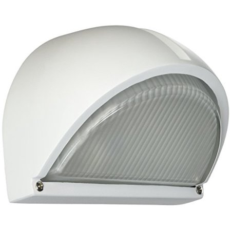 Claret Outdoor Wall Fixture-Finish: White, Light: Incandescent