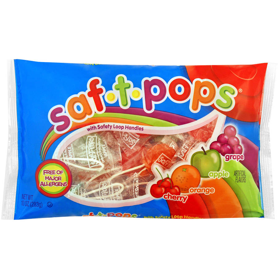 SPANGLER CANDY COMPANY Spangler Saf - T - Pops, 10 oz