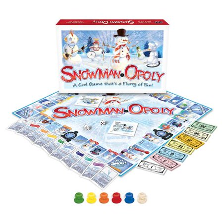 Late for the Sky Snowman-opoly - Sky Breeze Games Halloween
