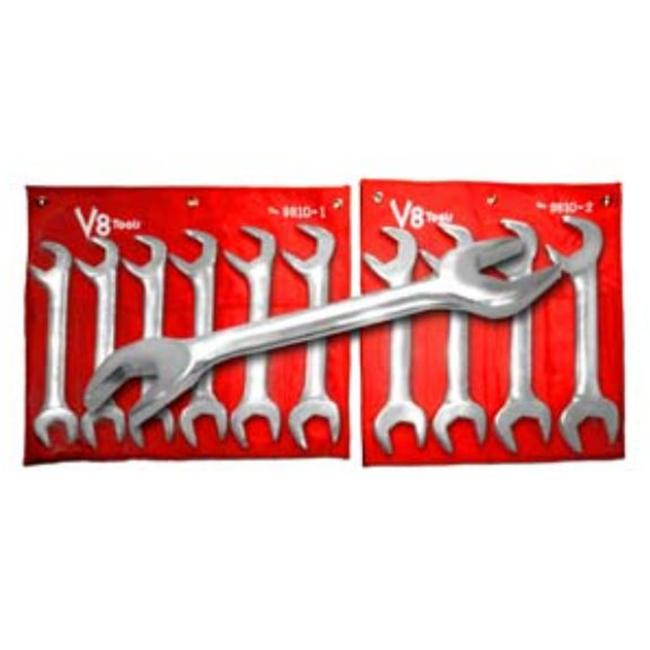 V8 Tools Inc VT9810 Jumbo Angle Combo Wrench Set