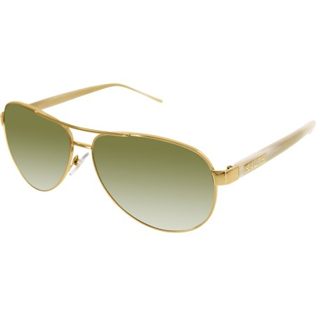 Ralph Lauren Women's Gradient  RA4004-101/13-59 Gold Aviator Sunglasses ()