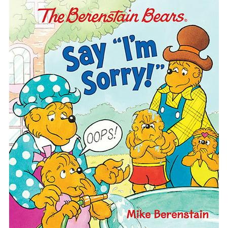 Berenstain Bears Say Im Sorry (Board Book)