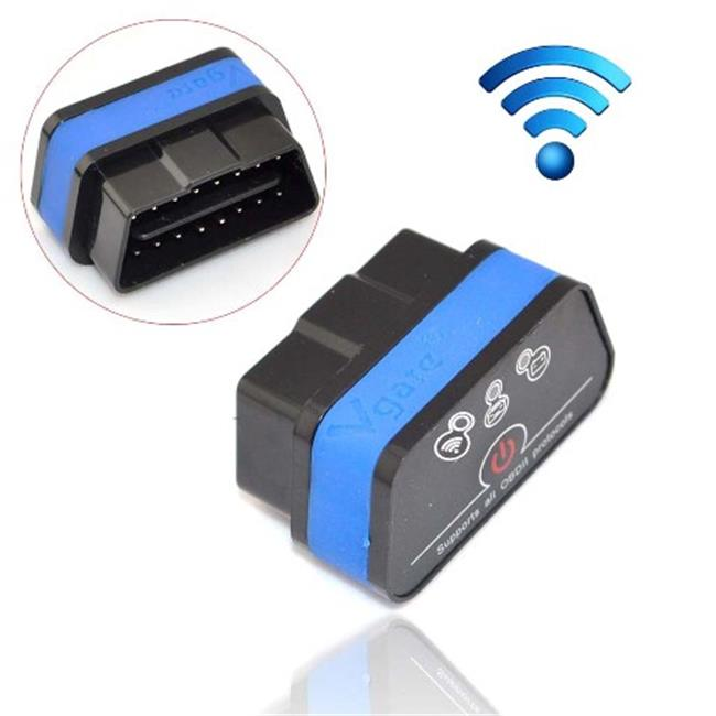 IKKEGOL 10308BC Vgate iCar 2 Mini OBD2 OBD II WiFi Car Diagnostic Scan Tool, Black & Blue