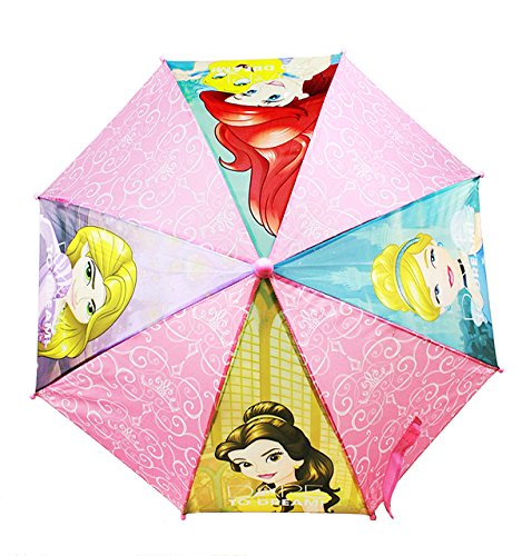 Umbrella - Princess - Rapunzel, Cinderella, Ariel & Belle Kids/Youth PRN3880MN