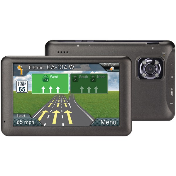"Magellan Rm6220sgluc Roadmate 6220-lm 5"" Gps Dashcam Navigator"